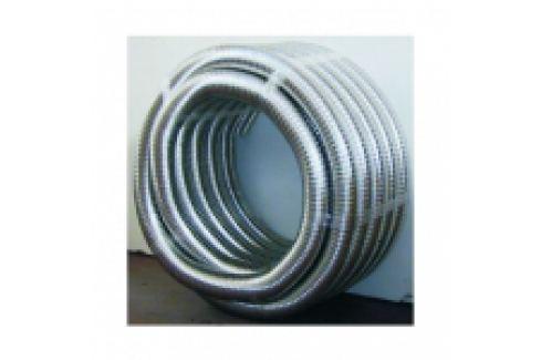 TUB FLEXIBIL DIN INOX, DUBLU PERETE, NETED LA INTERIOR D.150 Tuburi/racorduri flexibile inox