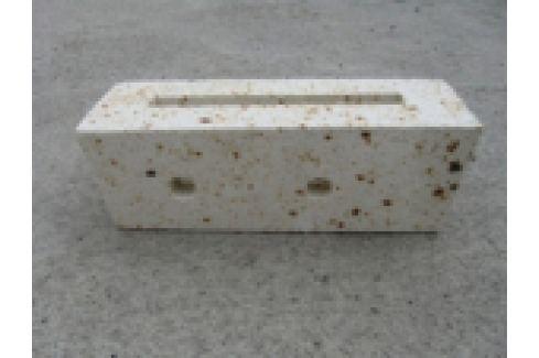 DUZA CERAMICA REFRACTARA PT. CAZAN GAZEIF. ORLAN STANDARD 25-80kW, 306x112x102mm, 2 GAURI, <200 Ceramica refractara